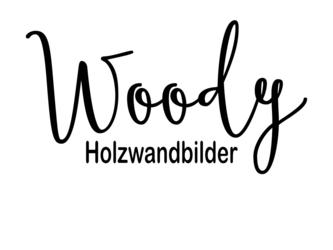 Shoplogo - Woody Holzwandbilder