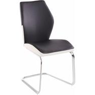 Essgruppe weiß, Tisch-Breite 140, ausziehbar, »Snap04 und Marley Az«, pflegeleichtes Kunstleder, FSC®-zertifiziert, Steinhoff