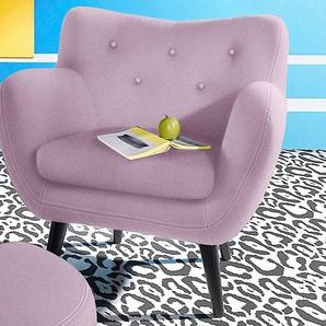 INOSIGN Sessel, rosa, FSC-Zertifikat, , , strapazierfähig