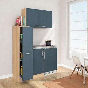 RESPEKTA Küchenzeile mit E-Geräten »MK130ESWOSC«, Gesamtbreite 130 cm