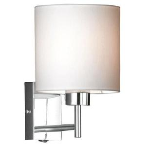 FISCHER & HONSEL Retrofit Wandlampe 1-flg MAINZ Chrom mit rundem Schirm