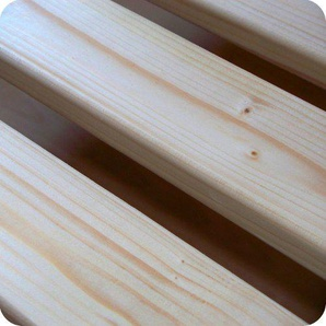 TUGA-Holztech 20mm Rollrost Lattenrost 100x190cm bis 200KG Qualitätsarbeit aus Deutschland unbehandelt frei von Chemie Naturprodukt