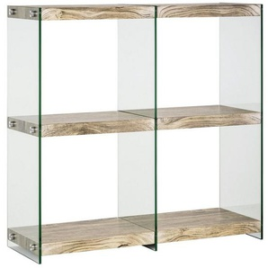 heine home Regal , mit transparenten Seitenwänden