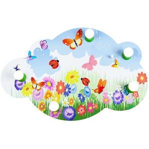 LED-Deckenleuchte Bildwolke Blumenwiese