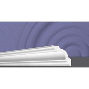 Decosa Zierprofil A80 (Stefanie), weiss, 80 x 80 mm Laenge 2 m - 50 Stueck - DECOSA®