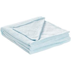 HOME STORY Coralfleecedecke  Emely   blau   Polyester, 100% Polyester   130 cm   Möbel Kraft