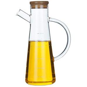 JUSTDOLIFE Ölspender Flasche Kreative Gewürzflasche Öl Glasflasche für Küche