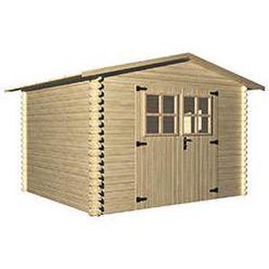 Holz Gartenhaus LUGNY B 309 x T 320 cm, 19 mm