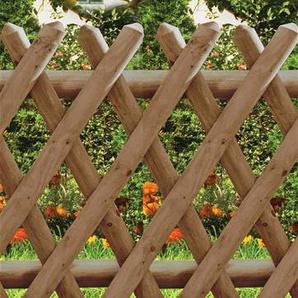 Gartentür / Pforte für Jägerzaun 55 kdi braun 100x80cm