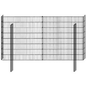BELLISSA Mauersystem »Gabionenzaun Limes«, Basisbausatz, LxT: 230x12 cm, versch. Höhen