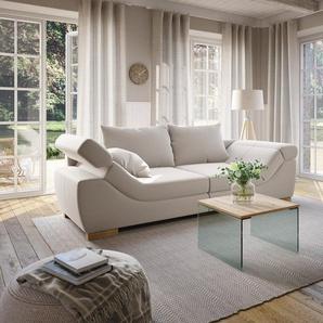 Home affaire Big-Sofa »Marrakesch«, in 2 Größen mit Kopfteilverstellung in Rutschen-Armlehne