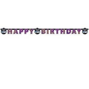 Amscan–998288–Lichterkette HAPPY BIRTHDAY Polizei–180x 15cm