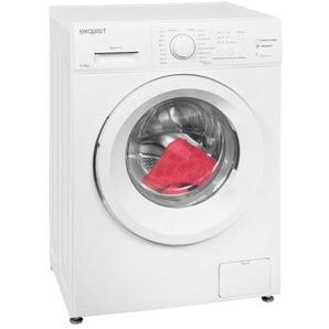 exquisit Waschmaschine »WA 6010-2«, A++ Energieeffizienz, 6 kg Füllmenge, 8 Programme