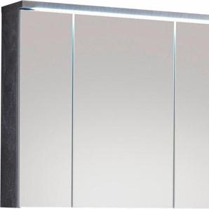 Spiegelschrank mit LED Beleuchtung »Pool«, grau, FSC-Zertifikat, , , FSC®-zertifiziert, welltime