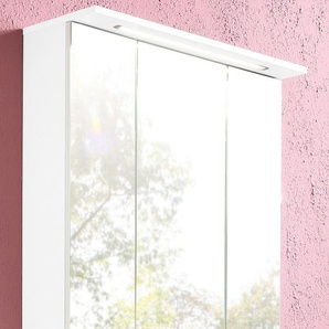 Spiegelschrank  und 7 Glaseinlegeböden, »Profil«, Energieeffizienzklasse: A (Skala A++ bis E), Schildmeyer Möbelproduktion