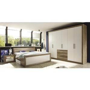 3-tlg. Schlafzimmer-Set Trefann, 180 cm x 200 cm
