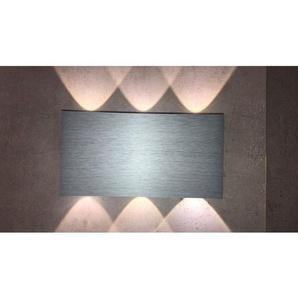 B-Leuchten In+Outdoor LED Wandlampe IP54 STREAM Alu/Palladium eloxiert