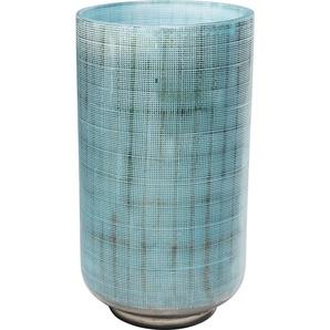 Vase Jute Hellblau 27cm