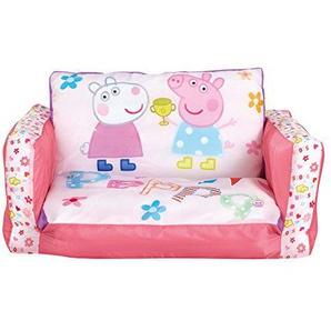 Peppa Pig 2-in-1: Aufblasbares Sofa und Liegestuhl Polyester pink 26 x 68 x 105 cm