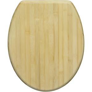 WC-Sitz Bambus, hellbraun