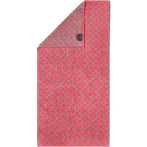 Cawö Duschtuch TWO TONE C ALLOVER 80 x 150 cm in Rot