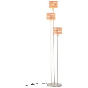 Brilliant Stehlampe, Alu, Eisen, Stahl & Metall