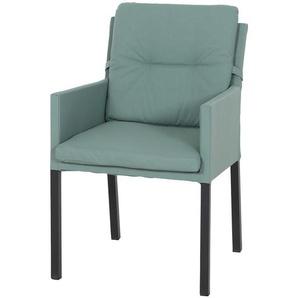 Dining Sessel  Caribian ¦ grün ¦ Maße (cm): B: 58 H: 85