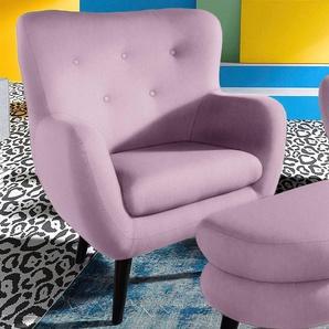 INOSIGN TV-Sessel, rosa, strapazierfähig