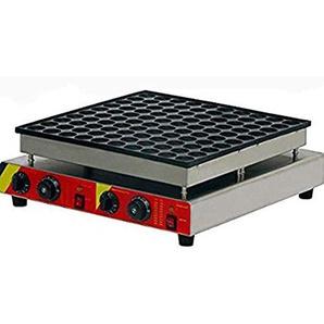 hanchen Instrument np-545Commercial 100Automatische Poffertjes Grill Dutch Mini Pfannkuchen Waffel Maker/Baker/Maschine 110V silber