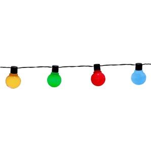 Star Trading LED-Lichterkette, 9,5 m, bunt