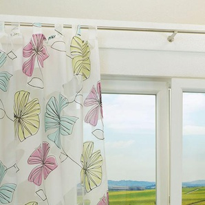 Schlaufenschal von LYSEL® Oleander Floral in den Maßen Breite: 140cm Höhe: 245cm in Rosa/multicolor