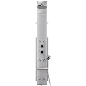 hansgrohe Duschpaneel Lift 2 M 20 Pharo manuell, Armaturen verchromt Satinchrom chrom