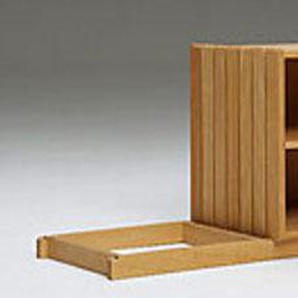 Sockel für Stapelbox Wasa beige, 4.3x36.7x30 cm