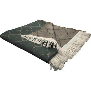 Adam Wohndecke »Indian Cortezada«, 145x190 cm, braun