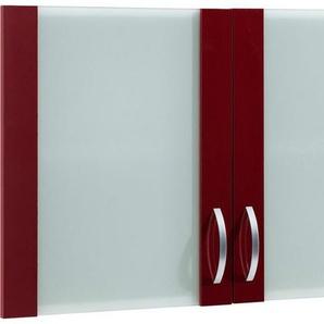 Glashänger »Flexi«, Breite 100 cm, rot
