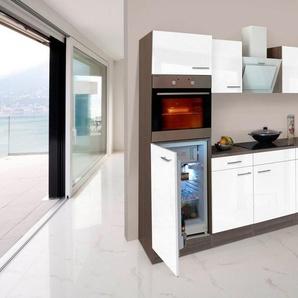 RESPEKTA Küchenzeile mit E-Geräten »York Winkelküche«, Breite 280 x 172 cm