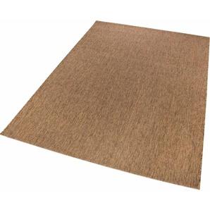 Luxor Living Teppich »York«, 8 mm, 8 mm Gesamthöhe, braun