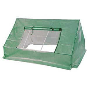 Spetebo Folien Gewächshaus grün mit stabilem Metallrahmen - 180x142x93 cm - Frühbeet Treibhaus Pflanzenhaus Anzuchthaus