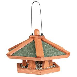 TRIXIE Vogelhaus »Pyramide«, braun/grün, zum Hängen, B/T/H: 42/42/24 cm