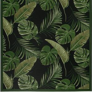 Luxor Living Teppich »Labuka«, 160x230 cm, 5 mm Gesamthöhe, schwarz