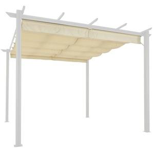 KONIFERA Ersatzdach für Pavillon »Tilos«, BxL: 300x300 cm, sandfarben