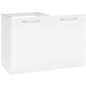 HELD MÖBEL Spülenschrank »Mito« Breite 60 cm, inkl. Tür/Sockel für Geschirrspüler, weiß