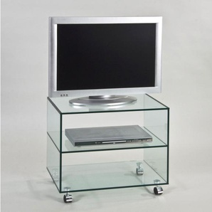 TV-Möbel TOM Klarglas ca. 60 x 53 x 40 cm
