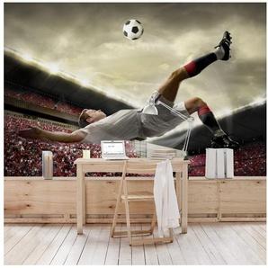 Bilderwelten Kinderzimmer Vliestapete Breit »Fußball Action«