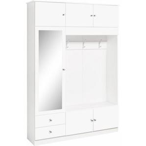 Borchardt Möbel Kompaktgarderobe »Kompakta« mit Spiegeltür
