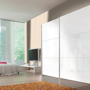Express Solutions Schrank mit Schwebetüren, Breite 300 cm, 2-türig, Höhe 236 cm, weiß