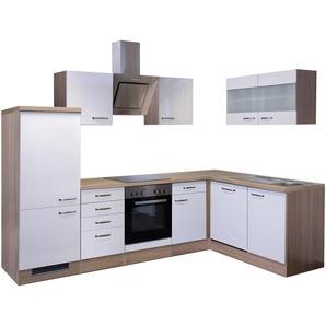 Winkel-Küchenzeile mit E-Geräten »Florenz«, Breite 280 x 160 cm