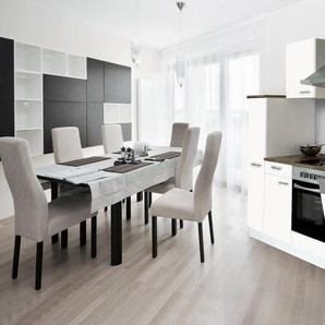 RESPEKTA Küchenzeile mit E-Geräten , Breite 250 cm