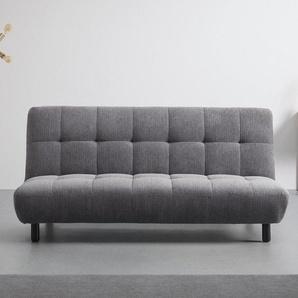 Sofa in grau mit Schlaffunktion Camilla