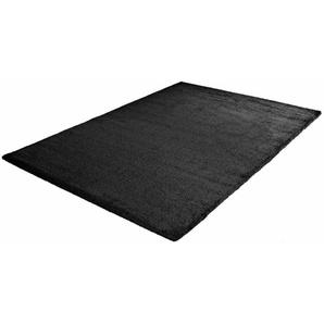 Hochflor-Teppich »Silky Touch«, Sanat, rechteckig, Höhe 30 mm, Besonders weich durch Microfaser